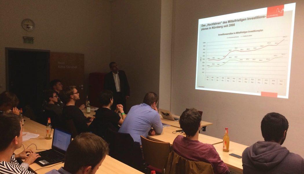 Zahlen und Fakten vom Stadtkämmerer der Stadt Nürnberg zu ÖPP