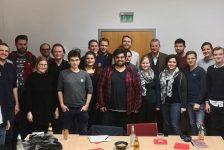 Uli Maly zu Besuch bei den Jusos Nürnberg
