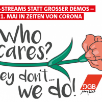 Live-Stream statt großer Demos – der 1. Mai in Zeiten von Corona